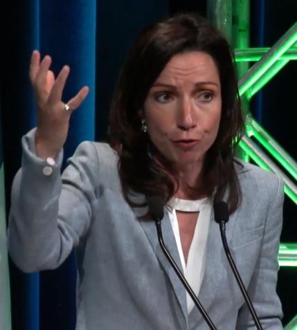 Martine Ouellet à propos d'Hydro-Québec, fleuron de notre économie